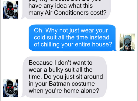 Texts From Superheroes: It Suits You