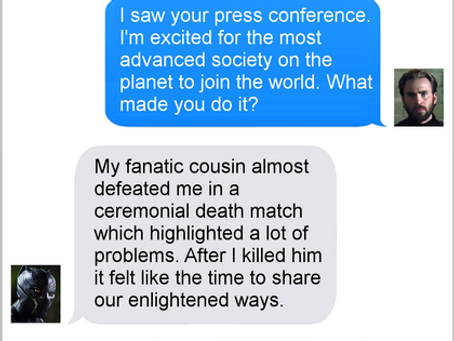 Texts From Superheroes: Civilized