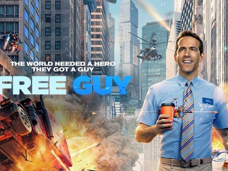 Talk From Superheroes: Free Guy
