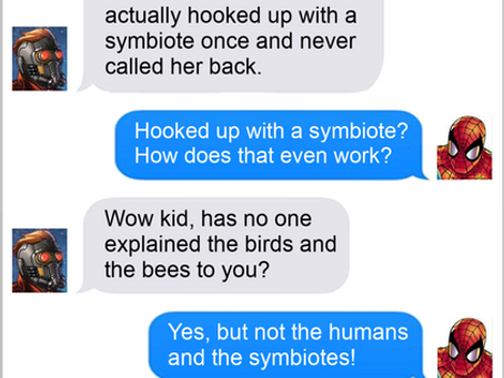 Texts From Superheroes: The Talk