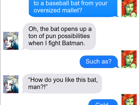 Texts From Superheroes: Weapuns Specialist