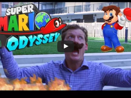 Sketch From Superheroes: Super Mario Odyssey In Real Life