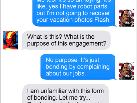 Texts From Superheroes: Tech Support