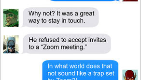 Texts From Superheroes: Cyber Security