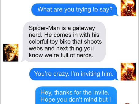 Texts From Superheroes: Join The Club