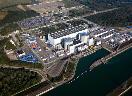 Triangle aperçu au-dessus de la centrale de Fessenheim ?