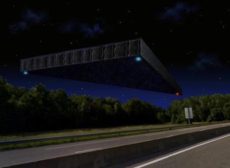 Un immense triangle noir prés du LHC de Genève  - L'Affaire CHALLEX
