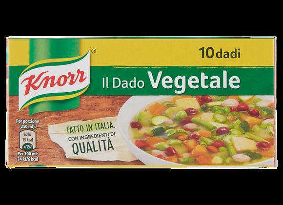 10 Dadi Vegetali Knorr