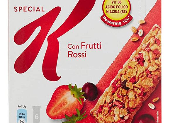 6 Barrette Frutti Rossi Special K Kellogg's