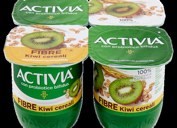 4 Yogurt Fibre Kiwi Activia