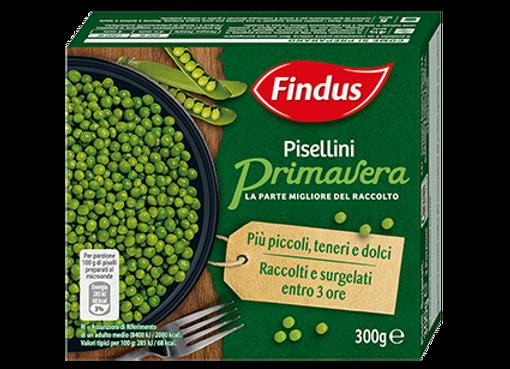 Pisellini Primavera Findus 300gr