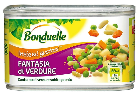 Fantasia Verdure Bonduelle 400gr