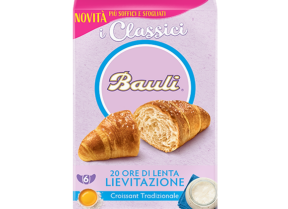 6 Croissant Classici Bauli 240gr