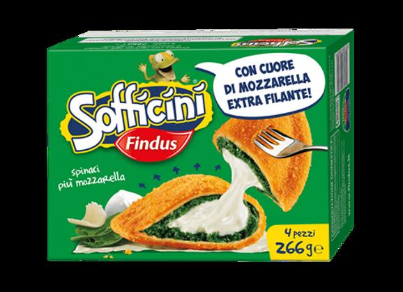 4 Sofficini Spinaci Findus