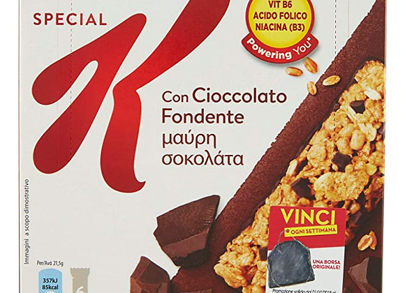 6 Barrette Cioccolato Special K Kellogg's