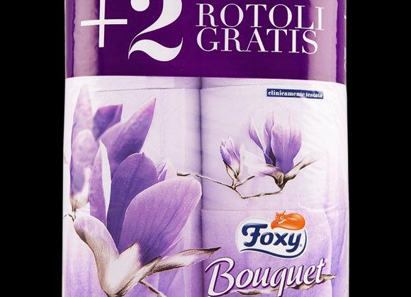 6 Rotoli Carta Igienica Foxy Bouquet