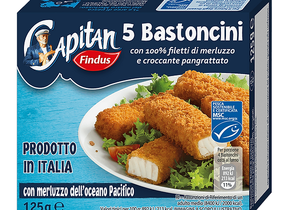 5 Bastoncini Findus