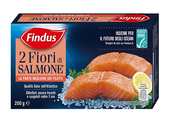 2 Fiori Salmone Findus