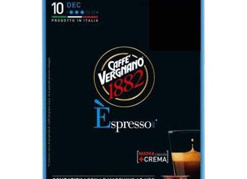 10 Capsule Espresso Vergnano DECAFFEINATO