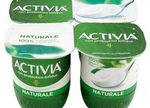 4 Yogurt Bianco Naturale Activia