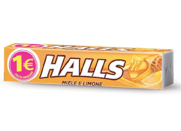 Halls Miele Limone