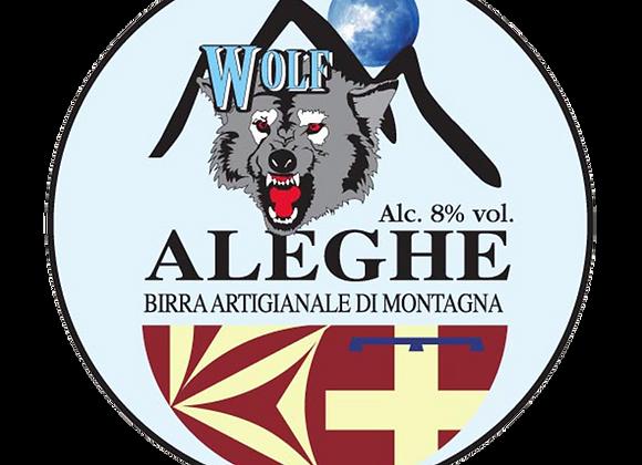 Birra Wolf Doppio Malto Aleghe 33cl