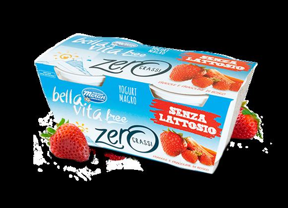 2 Yogurt Senza Lattosio Fragola Merano