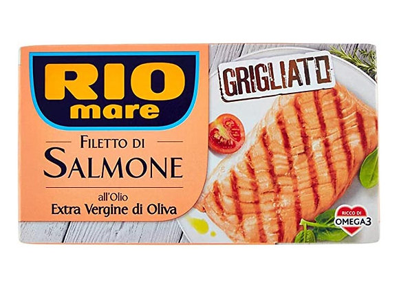 Filetto Salmone Grigliato Rio Mare 125gr