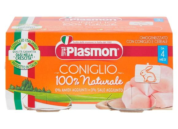 2 Omogeneizzati Coniglio Plasmon 80gr