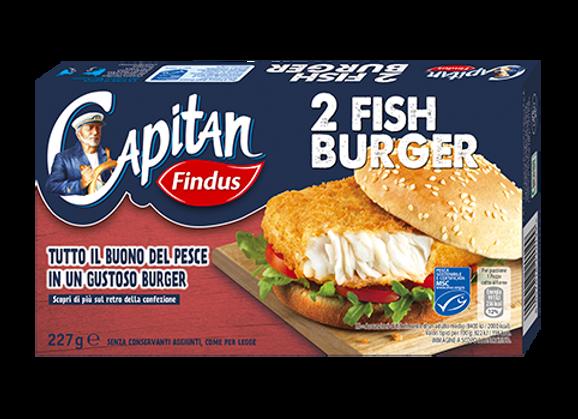 2 Fish Burger Findus
