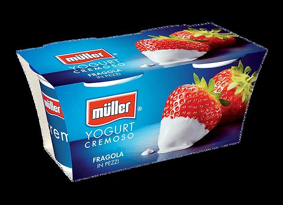 2 Yogurt Fragola Muller