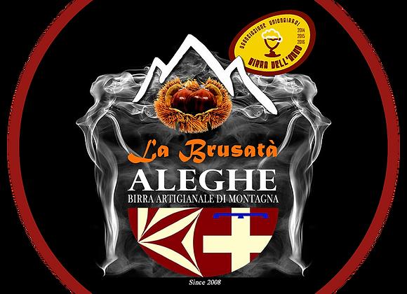 Birra Castagne Brusatà Aleghe 33cl