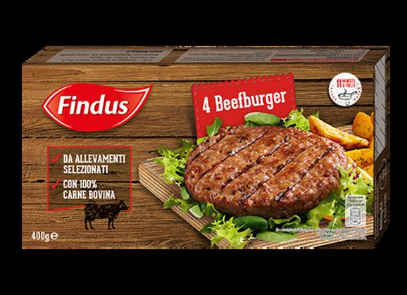 4 Beefburger Findus