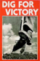 World War Two Dig for Victory poster.