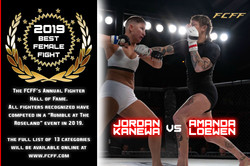 2019 HALL OF FAME - FEMALE FIGHT OF THE