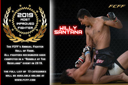 2019 HALL OF FAME - MOST IMPROVED FIGHTE