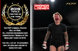2019 HALL OF FAME - FEMALE FIGHTER OF TH