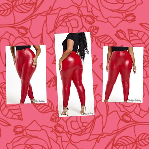 Red Hot Faux Bottoms
