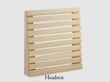 Deluxe Head/Backrest Hemlock