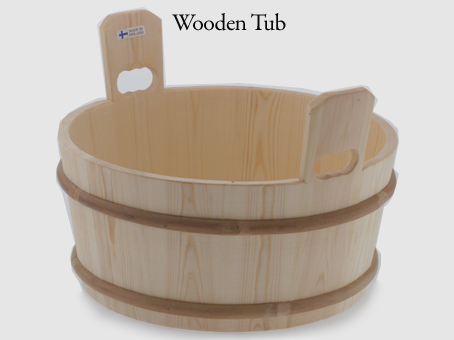 4.5 gallon wood bucket