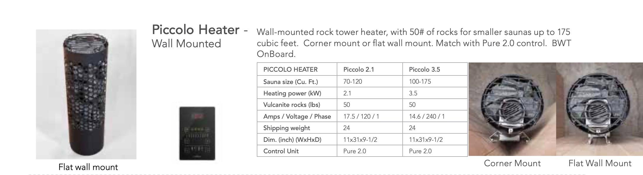 Picollo Heater