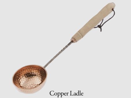 """Ladle:19.5"""" Wood/Stainless Steel ladle"""