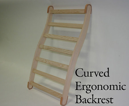 Curved Ergonomic Backrest