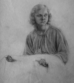 A study for an angel