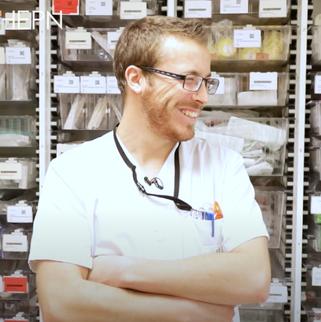 Jeremy Leclerc : Infirmier responsable de soins généraux