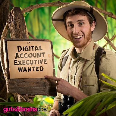 Търси се: Digital Account Executive, guts & brains DDB