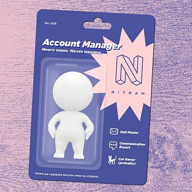 Търси се: Account Manager, Нитрам