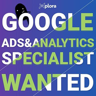 Търси се: Google Ads & Analytics Specialist, Xplora