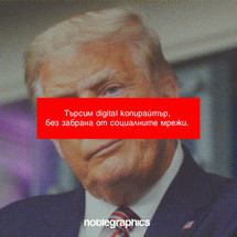 Търси се: Digital копирайтър, Noble Graphics