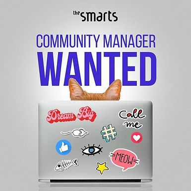 Търси се: Community Manager, The Smarts